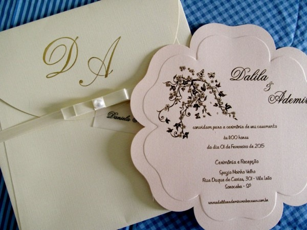 Galeria convite de casamento informal meu