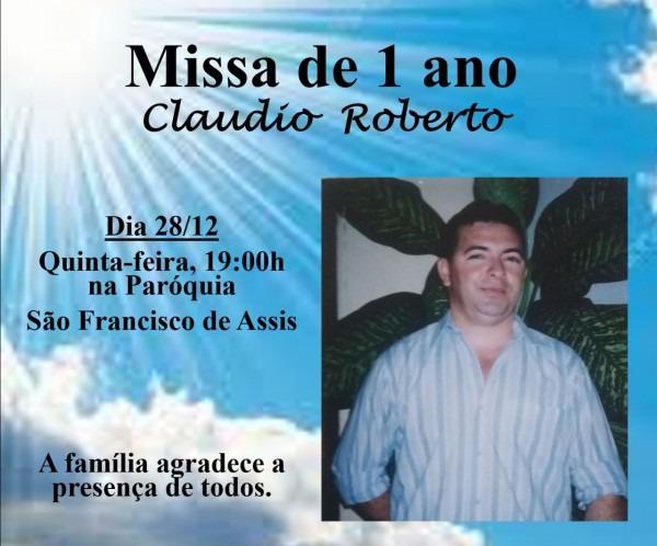 Acopiara alerta  convite de missa de 1 ano de falecimento