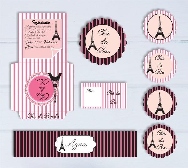 Kit chá de panela paris