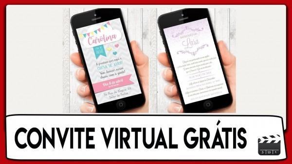 Como fazer convite virtual grátis para facebook e whatsapp