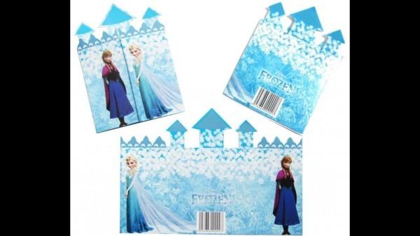 Como montar convite castelo frozen