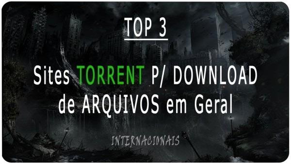 Top 7] sites torrent (internacionais)