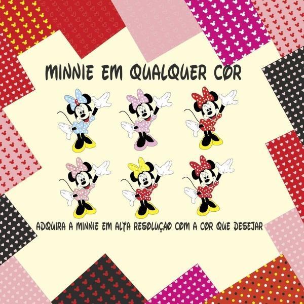 Minnie vetor no elo7