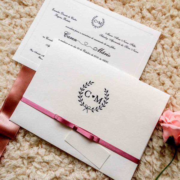 Cole o de confec convites casamento bh papel e estilo a maior do