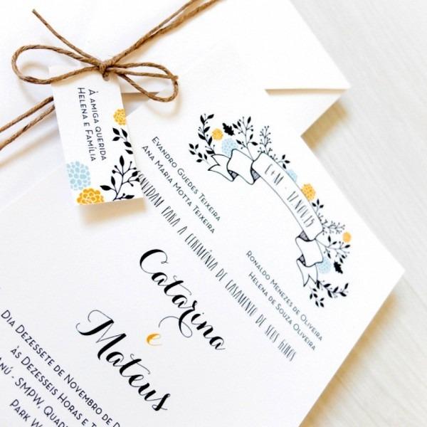 Nico convite de casamento informal convites todas as dicas que voc