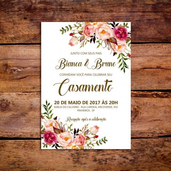 Site de convites online tend ncia arte digital convite casamento