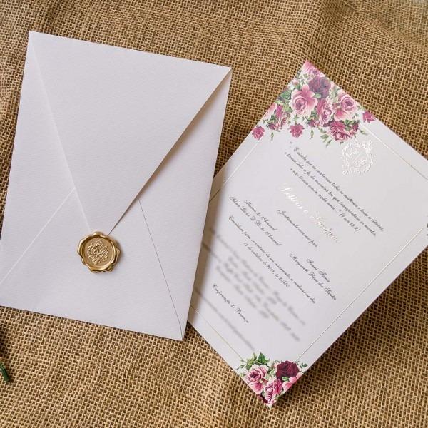 Tipos de acabamentos de convite