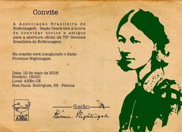 Convite para a 79ª semana brasileira de enfermagem – nascecme