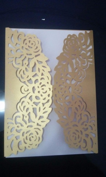 100 convites envelope rendado casamento 15 anos aniversário