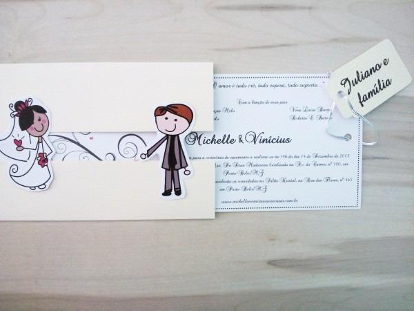 10 convite casamento encontro dos noivos noivinhos