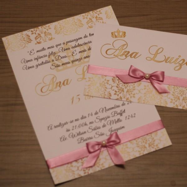 140 convite de 15 anos dourado rosê casamento marsala barato