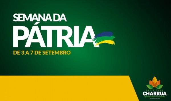 Prefeitura de charrua   definida programação da semana da pátria