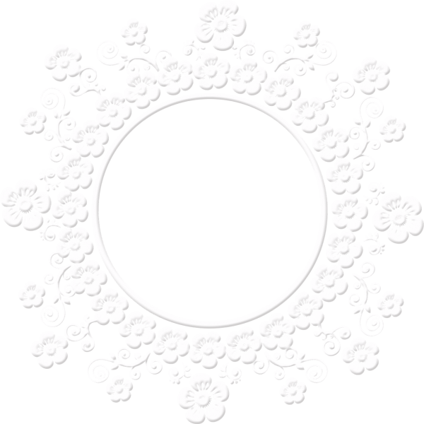 Download lace frame png