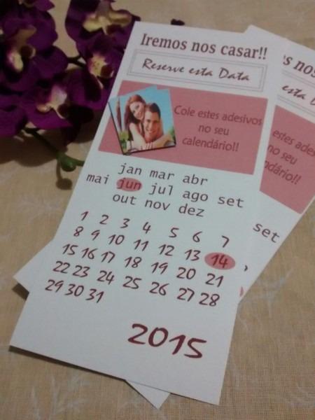 Mais um lançamento!  new  wedding  convite  casamento  calendar