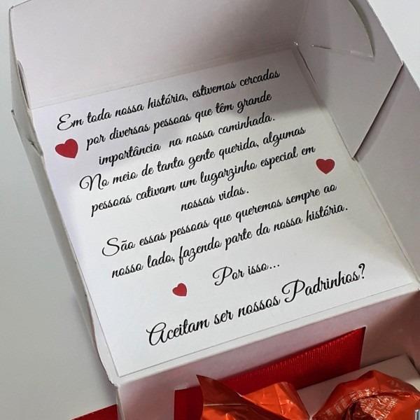 20 caixas convite padrinhos casamento corsage gravata