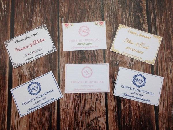 350 convites individual ou lista de presente casamento