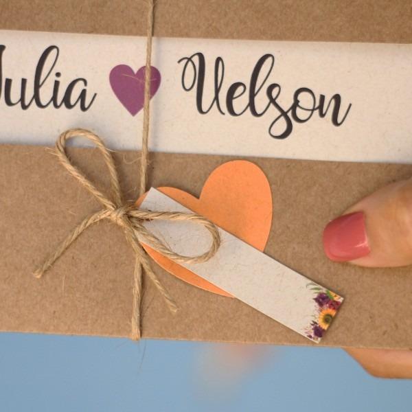 35 convites de casamento rústico girassol barato romântico