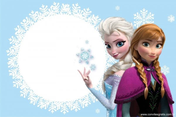 Convite frozen …