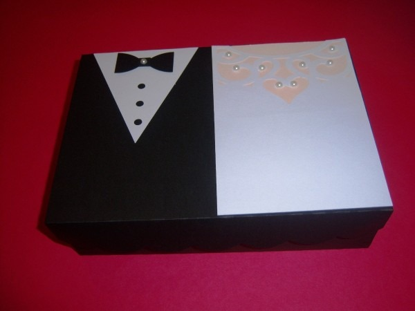 4 caixas para convite padrinhos de casamento