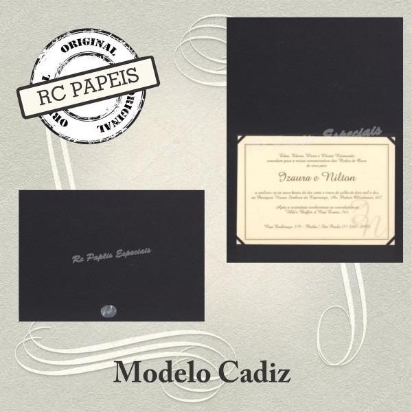 50 envelopes para convites cadiz 15 x 21 cm  no elo7