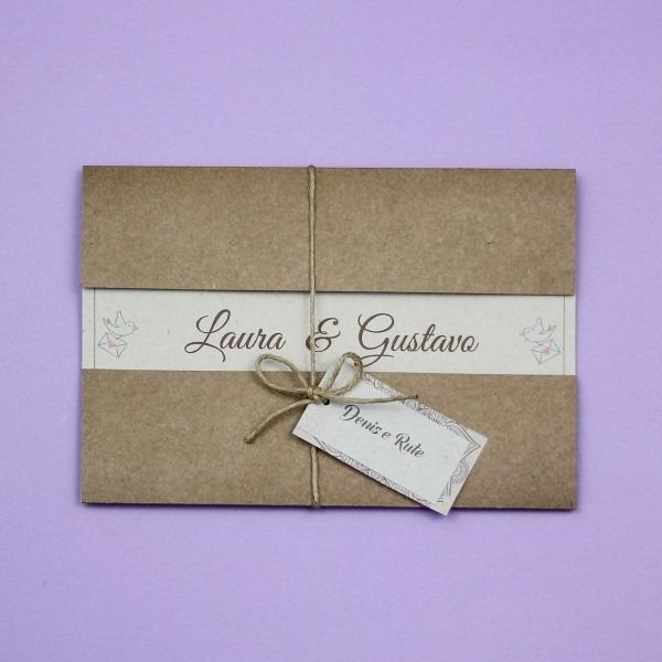 60 convites casamento rustico pombinhos romantico arabesco