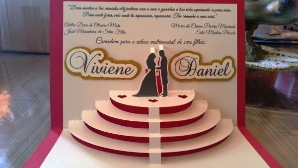 70 convite casamento altar 3d