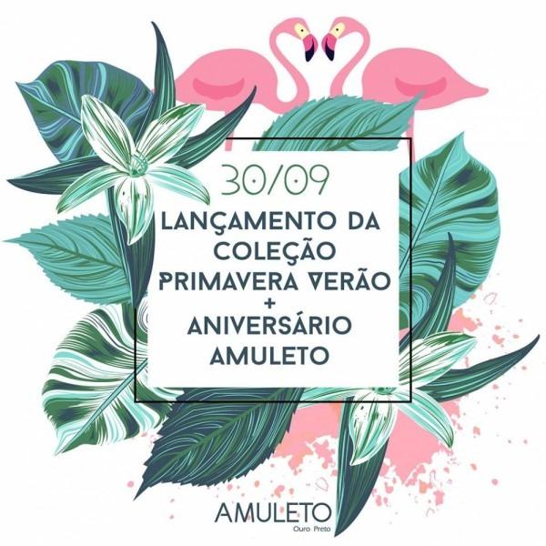 Ouropreto com br    convite aniversário amuleto + lançamento