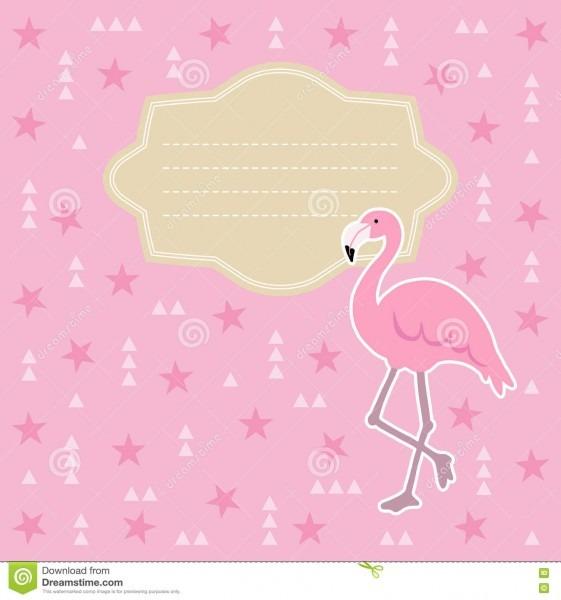 Aniversário, cartão da festa do bebê, convite ilustração do vetor