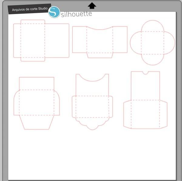 Arquivos de corte silhouette convites em branco no elo7