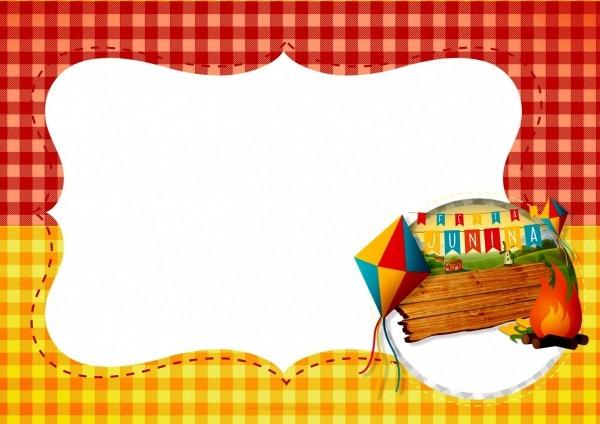 Bonita convite festa junina infantil criativo para criativos e