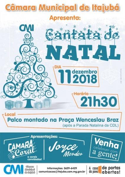 Convite  cantata de natal 2018