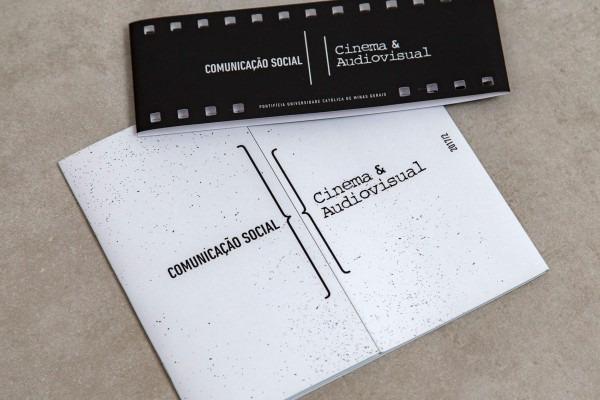 Casa2 design i identidade visual para formatura cinema