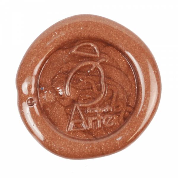 Cera para lacre de convite medieval cobre