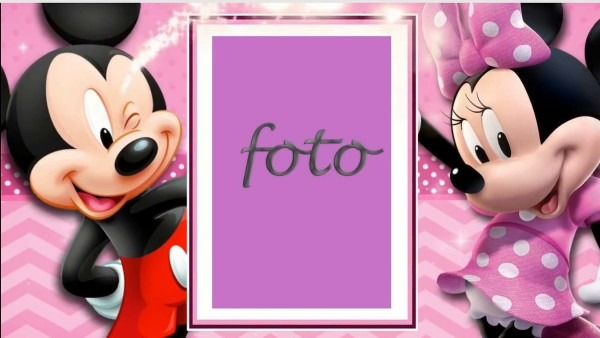 Convite animado minnie rosa (mod02) no elo7