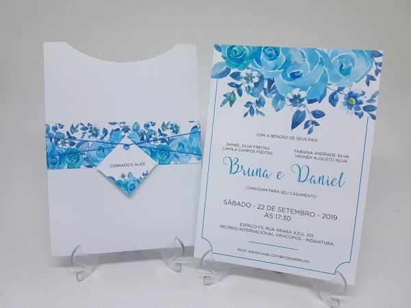 Convite casamento tiffany no elo7