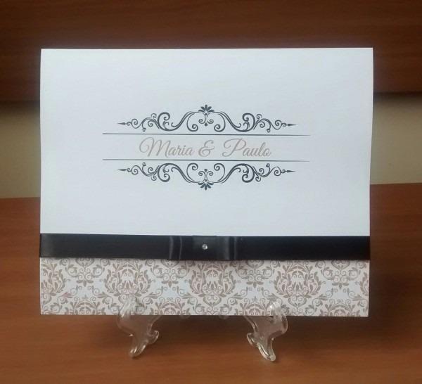 Convite de casamento 2,50 no elo7