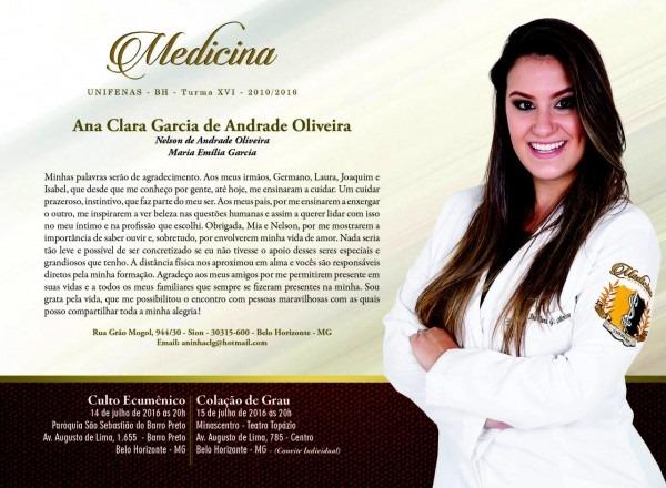 Convite de formatura medicina ltimas formandos de medicina