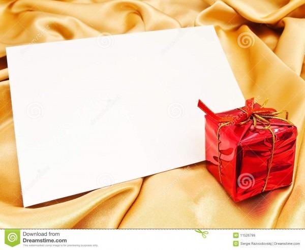 Convite em branco do natal imagem de stock  imagem de swatch