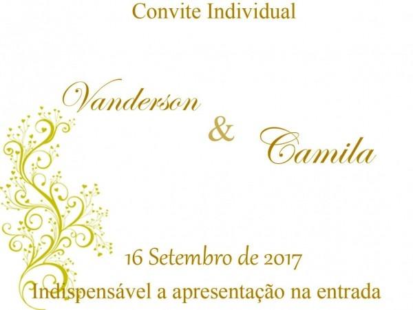 Convite individual casamento download galeria elo7