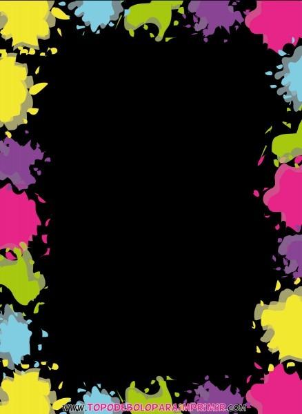 Convite neon 02