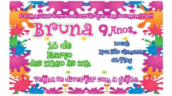 Convite personalizado festa slime no elo7