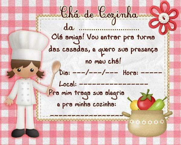 Cantinho dos rótulos  para chá de cozinha  convite e tag!!!!