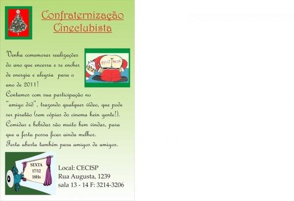 Lunetim mÁgico  convite confraternização