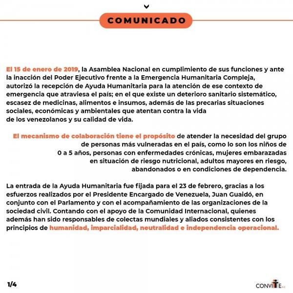 Convite a c on twitter   comunicado