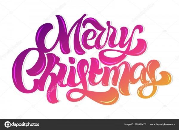 Feliz natal cartão bonita letras personalizadas para convites