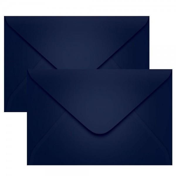Envelope para casamento convite azul marinho 16x23 100un