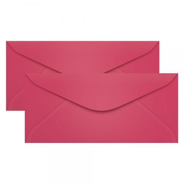 Envelope rosa cancun para convite ofício 114x229mm 100un