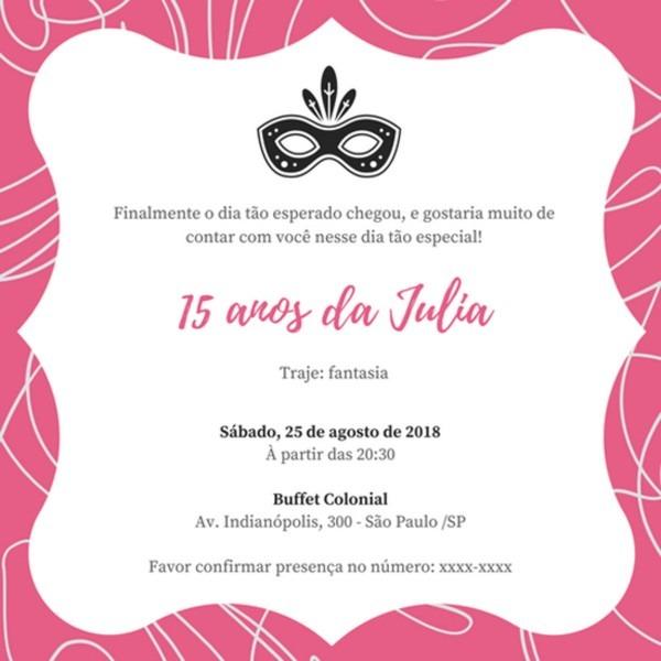 Convite online