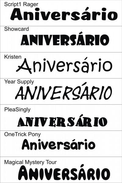 Fontes aniversario 2 » happy birthday world
