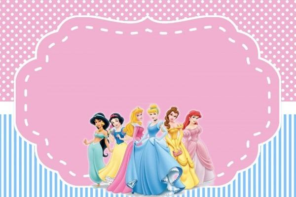Convite princesas 271 png grátis para baixar jpg,png